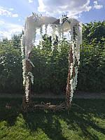 Свадебная фотозона, свадебная арка