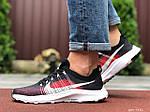 Чоловічі кросівки Nike Zoom (темно-синій з чорним і червоним) 9582, фото 2