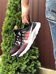 Чоловічі кросівки Nike Zoom (темно-синій з чорним і червоним) 9582, фото 4