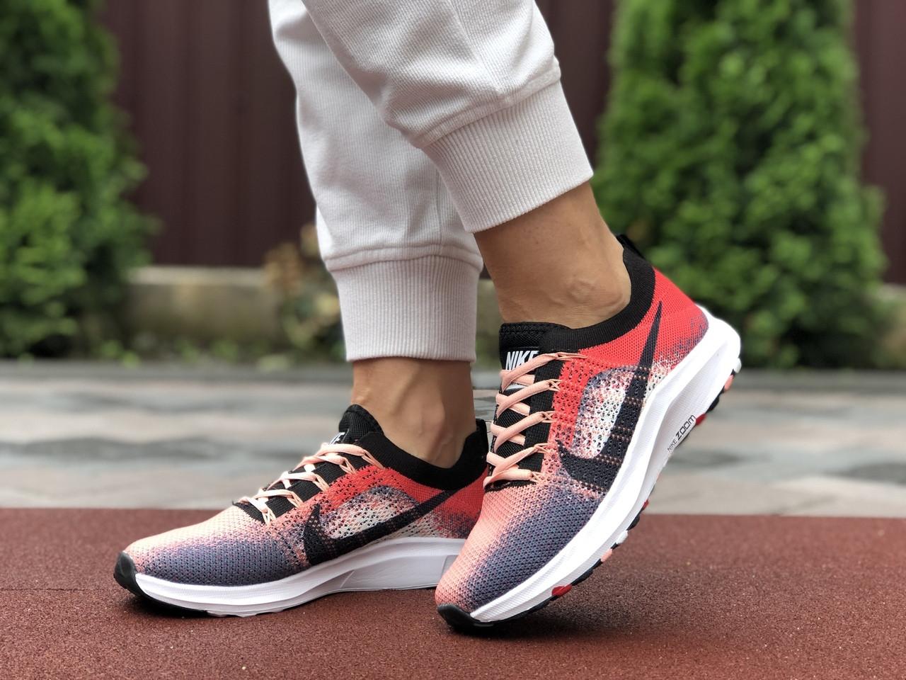 Жіночі кросівки Nike Zoom (червоно-рожеві) 9590