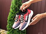 Жіночі кросівки Nike Zoom (червоно-рожеві) 9590, фото 3