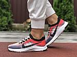 Жіночі кросівки Nike Zoom (червоно-рожеві) 9590, фото 4