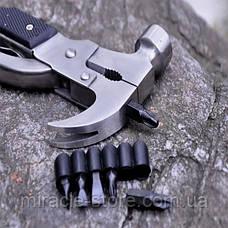 Универсальный инструмент многофункциональный молоток трансформер Tac Tool мультитул, фото 3