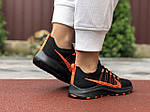 Жіночі кросівки Nike Zoom (чорно-помаранчеві) 9593, фото 2