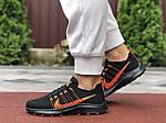 Жіночі кросівки Nike Zoom (чорно-помаранчеві) 9593, фото 3