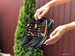 Жіночі кросівки Nike Zoom (чорно-помаранчеві) 9593, фото 4