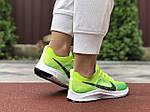 Женские кроссовки Nike Zoom (салатовые) 9595, фото 2
