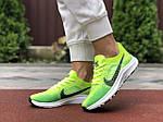 Женские кроссовки Nike Zoom (салатовые) 9595, фото 3