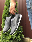 Мужские кроссовки Nike Free Run 3.0 (серые) 9602, фото 2