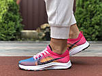 Женские кроссовки Nike Zoom (сине-розовые) 9600, фото 2
