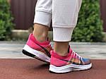 Женские кроссовки Nike Zoom (сине-розовые) 9600, фото 3