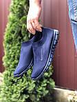 Чоловічі кросівки Nike Free Run 3.0 (темно-сині) 9603, фото 3