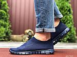Чоловічі кросівки Nike Free Run 3.0 (темно-сині) 9603, фото 4