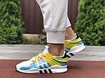 Жіночі кросівки Adidas Equipment (біло-блакитні) 9607, фото 2