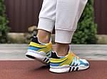 Жіночі кросівки Adidas Equipment (біло-блакитні) 9607, фото 4