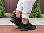 Жіночі кросівки Adidas Equipment (чорно-червоні) 9608, фото 2