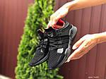 Жіночі кросівки Adidas Equipment (чорно-червоні) 9608, фото 3
