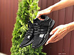 Жіночі кросівки Adidas Equipment (чорні) 9611, фото 2