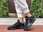 Жіночі кросівки Adidas Equipment (чорні) 9611, фото 3
