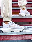 Жіночі кросівки Nike Vista Lite (біло-червоні) 2100, фото 9