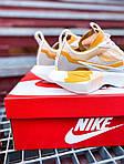 Женские кроссовки Nike Vista Lite (серо-желтые с белым) 2205, фото 2