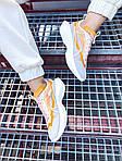 Жіночі кросівки Nike Vista Lite (сіро-жовті з білим) 2205, фото 4