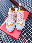 Женские кроссовки Nike Vista Lite (серо-желтые с белым) 2205, фото 7
