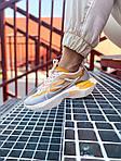 Женские кроссовки Nike Vista Lite (серо-желтые с белым) 2205, фото 8
