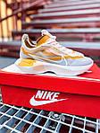Женские кроссовки Nike Vista Lite (серо-желтые с белым) 2205, фото 9