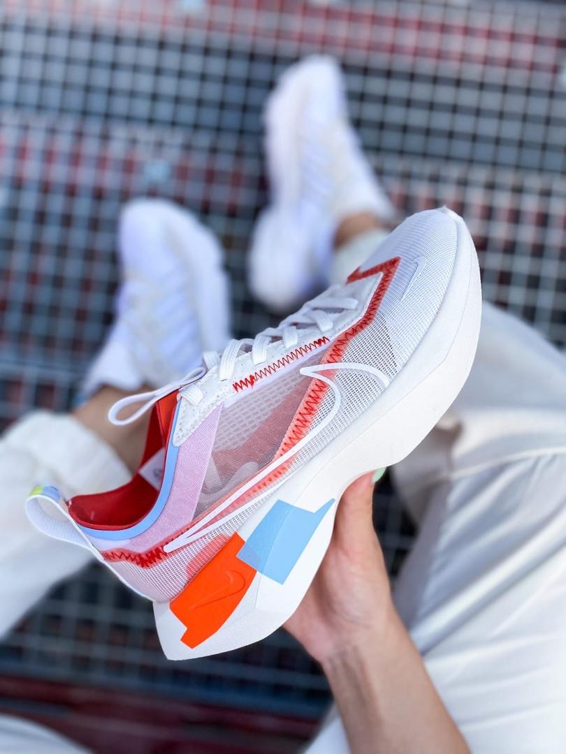 Жіночі кросівки Nike Vista Lite (сіро-червоні з білим) 2202