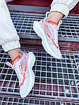 Жіночі кросівки Nike Vista Lite (сіро-червоні з білим) 2202, фото 2