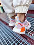 Жіночі кросівки Nike Vista Lite (сіро-червоні з білим) 2202, фото 3