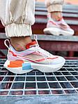 Жіночі кросівки Nike Vista Lite (сіро-червоні з білим) 2202, фото 4