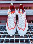 Жіночі кросівки Nike Vista Lite (сіро-червоні з білим) 2202, фото 5