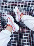 Жіночі кросівки Nike Vista Lite (сіро-червоні з білим) 2202, фото 6