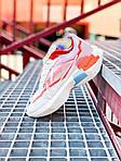 Жіночі кросівки Nike Vista Lite (сіро-червоні з білим) 2202, фото 10