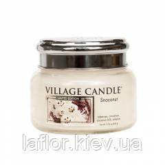 Ароматическая свеча Village Candle Снежный кокос (время горения до 55 ч), фото 2