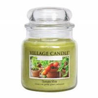 Ароматическая свеча Village Candle Томатная лоза (время горения до 105 ч)