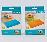 Intex Надувна подушка 68676 NP кольорова, 2 кольори,43х28х9см