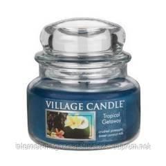 Ароматическая свеча Village Candle Тропические Гавайи (время горения до 55 ч), фото 2