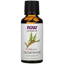 """Эфирное масло кедра NOW Foods """"Cedarwood"""" (30 мл)"""