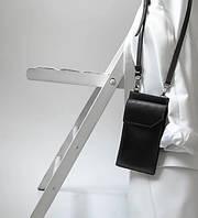 Маленькая мужская вертикальная сумка кошелек через плечо GP