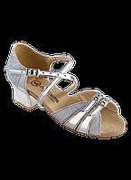 Туфли для бальных танцев блок-каблук