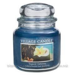 Ароматическая свеча Village Candle Тропические Гавайи (время горения до 105 ч), фото 2