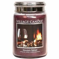 Ароматическая свеча Village Candle Убежище в горах (время горения до 170 ч)