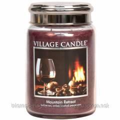Ароматическая свеча Village Candle Убежище в горах (время горения до 170 ч), фото 2
