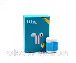 Бездротові навушники з мікрофоном і кейсом TWS i11 bluetooth 5.0 сенсор (Без заміни шлюбу!!!), фото 2