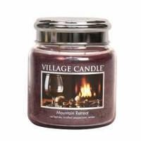 Ароматическая свеча Village Candle Убежище в горах (время горения до 105 ч)