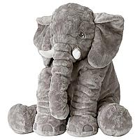 Мягкая игрушка Слон BabySweet 60 см игрушка подушка Grey (77127160-FL)