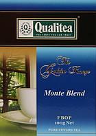 Чай Qualitea чорний Monte Blend середньолистовий 100 гр